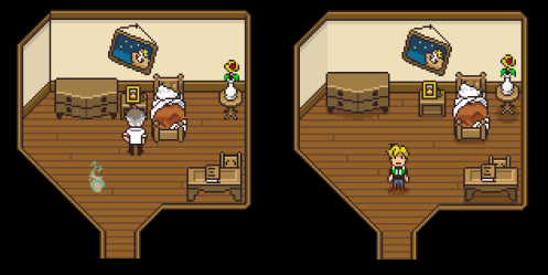 "Bonus included: The tiny ""redesigns"" that rooms go through over time"